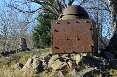 Armoured French observation post at HWK