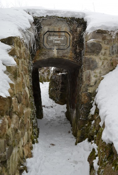 Entrance of a German tunnel