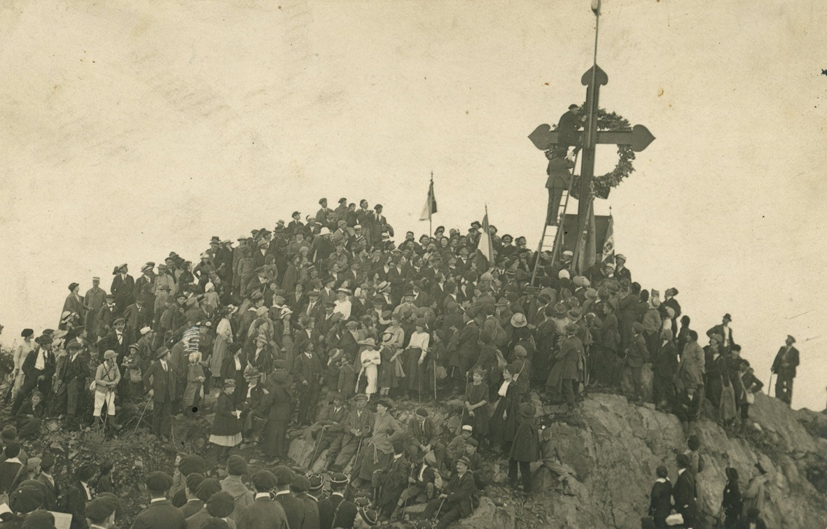 Inauguration of the Cross of the Haut-Rhin Volunteers