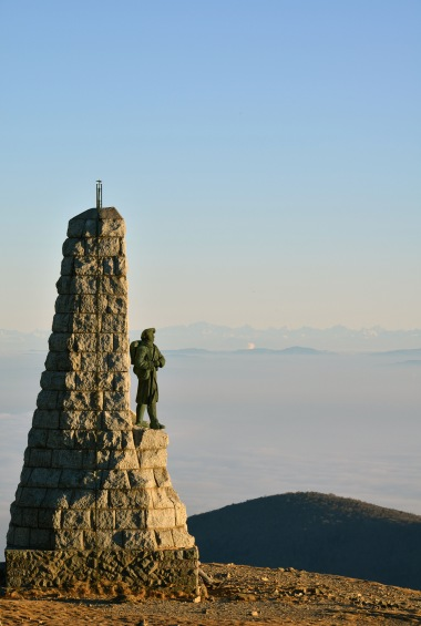 Monument to the French Alpine Light Infantry - Thierry Ehret