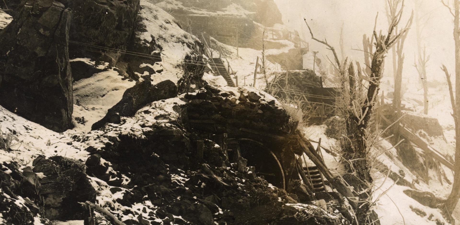 Le champ de bataille du Hartmannswillerkopf